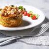 Truffel spek aardappel taartje